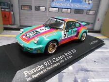 PORSCHE 911 Carrera RSR 3.0 DRM 1975 #5 Vaillant Wollek Minichamps Kremer 1:43