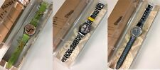 SWATCH GENT - ARTISTS COLLECTION  GK270 GB186 GK271   RARE SET  - BRAND NEW !