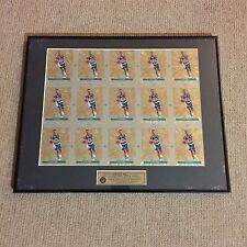 Grant Hill 1995 Classic Images Framed 15 Card Uncut Sheet 16x20 /995 Duke