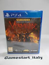 WARHAMMER THE END TIMES VERMINTIDE - SONY PS4 - NUOVO SIGILLATO NEW
