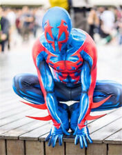 2099 Ultimate Spiderman Da Uomo Costume Cosplay Zentai Tuta Spider-Man Tuta cos