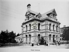 """ST.THOMAS Ontario CANADA """"Post Office"""" in 1906 Reprint on Pro Glossy Paper"""