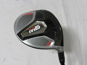 Used RH TaylorMade M6 24* 9 Fairway Wood Fujikura ATMOS Shaft Regular R Flex