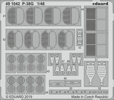 Eduard 1/48 Lockheed P-38G Lightning Detailing Set # 491042