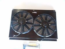 dual electric cooling fans w/ shroud 70-81 Camaro 67-85 C-10