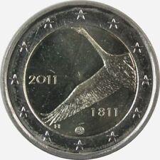 Pièces euro de la Finlande pour 2 euro année 2011