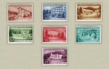 HUNGARY 1953. Hotels set MNH (**) Michel: 1297-1303