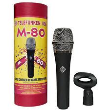 TELEFUNKEN M80 Dynamic Handheld Vocal Microphone Mic
