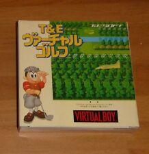 GAME/JEU NITENDO JAPANESE VERSION VUE-P-VVGJ (JPN) T & E VIRTUAL GOLF JAPAN