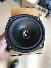 "New SINGLE Old School Kicker Resolution R5 5.25"" woofer,Rare,Vintage,USA,NOS"
