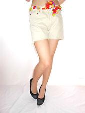 Femme Vintage Levis 501 jeans beige short main Custom Hot Pants SZ M W29 AE46