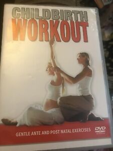 CHILDBIRTH WORKOUT DVD ANTE & POST NATAL EXERCISE weight loss tone build
