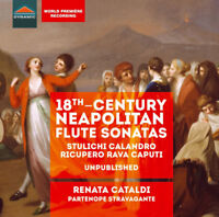 Renata Cataldi : 18th Century Neapolitan Flute Sonatas CD Album (Jewel Case)