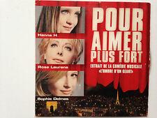 CD SINGLE COMEDIE MUSICALE L'OMBRE D'UN GEANT // POUR AIMER PLUS FORT