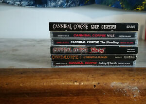 Cannibal Corpse - 6 cd - carcass, napal death, morbid angel, death,suffocation