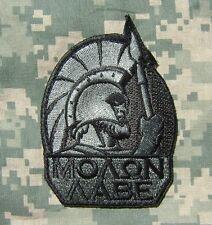 MOLON LABE SPARTAN ARMY 300 GREEK LAMBDA ACU DARK VELCRO® BRAND FASTENER PATCH