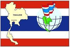 tailandia mapa & Bandera - RECUERDO Imán de NEVERA - NUEVO
