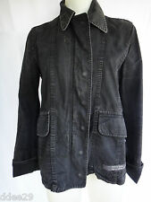 DKNY Ladies Black Distressed Look Jacket Size M