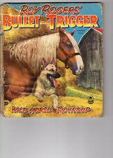 1953 Roy Rogers Bullet & Trigger Wild Horse Roundup Book 53 Cozy Corner Beecher