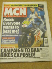 MCN - MOTORCYCLE NEWS - ROSSI INTERVIEW - 7 March 2007