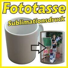 Fototasse Werbetasse Fotobecher Geschenkidee Fotogeschenk Sublimationstasse