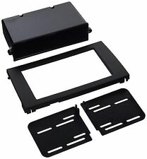 2002-08 Audi A4 Single / Double DIN Trim Panel Dash Kit With Pocket