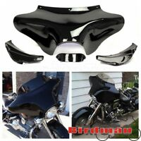 Front Outer Batwing Upper Fairing For Harley Softail Road King FLHT FLHX Classic