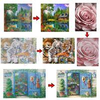 Animal House DIY 5D Diamond Painting Embroidery Cross Stitch Kits Home Decor AL