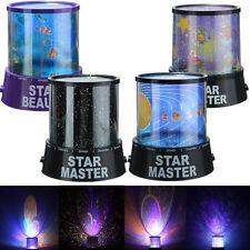 Projecteur LED Lumière Ciel Étoile Lampe Veilleuse Nuit Romantique Décor Chambre