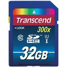 Transcend UHS-I 300x Premium (32GB) Sécurité Digitale haute capacité Carte Flash