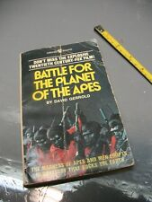 BATTLE  FOR  THE  PLANET  OF  THE APES -DAVID GERROLD PB 1973