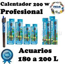 ACUARIO CALENTADOR SUMERGIBLE 200 W CON TERMOSTATO.