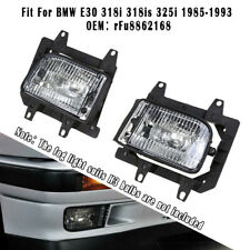 For BMW E30 318i 318is 325i Front Fog Lights Accessories 63171385945/63171385946