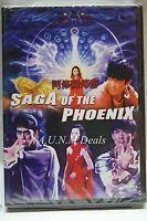 saga of the phoenix ntsc import dvd