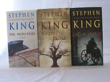 The Bill Hodges Trilogy #1-3: Book Series by Stephen King (Mass Market PB)