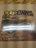THE OUTLAWS Greatest Hits High Tides Forever RARE Hype Sticker Arista LP
