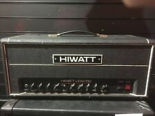 Hiwatt lead 50 head 1980's black