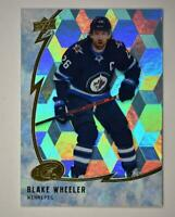 2019-20 ICE Ice Cube Parallel #33 Blake Wheeler - Winnipeg Jets