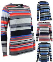 Dorothy Perkins casual Striped Long sleeved Top Tee Stripe black navy Red Blue