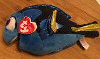 Ty Disney Sparkle Dory Stuffed Animal Plush Beanie Babies Pixar Finding Dory 9""