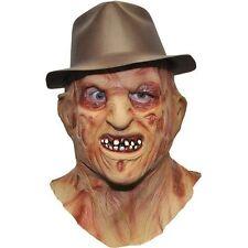 Deluxe Freddy Krueger Overhead Latex Costume Fancy Dress Mask One Size One-si