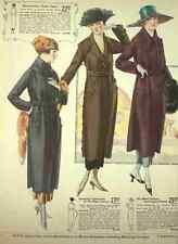 A4 Photo T Eaton Fall & Winter Catalogue 1920 21 Good Value Coats Print Poster