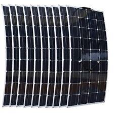 1000W Flexible Solar Panel 10x100w Solar Module Boat House 1000W Solar System