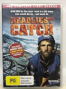 Deadliest Catch - 4 DVD Box Set - Season 1 -  - AusPost with Tracking