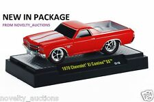 M73  81161 11  M2 GROUND POUNDERS 1970 CHEVROLET EL CAMINO SS RED  1:64 CHEVY