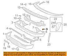 TOYOTA OEM 96-02 4Runner Front Bumper-Mount Bracket Grommet 9017908017