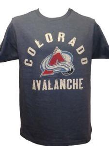 New Colorado Avalanche Hockey Mens Sizes S-M-L-XL-2XL Blue G-III Shirt $25