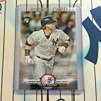 CLINT FRAZIER RC 2018 Topps Baseball # S-8 Rookie New York Yankees QTY