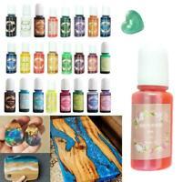 24Color Dyes Soap Making Coloring Set Liquid Kit Colorants For DIY Bath Q7H7