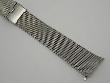 Vintage Stainless steel JB Champion Sliding clasp watch band 7 inches long 11/16